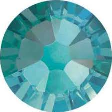 Preciosa ss16 No Hot Fix Blue Zircon AB Crystals Wholesale Pack 1440