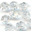 Preciosa Round Bead Clear 6mm - Large Pack 288