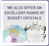 budget crystals and Rhinestones